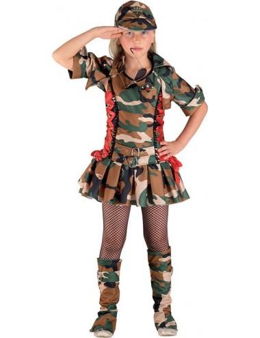 Costume Soldat Fille