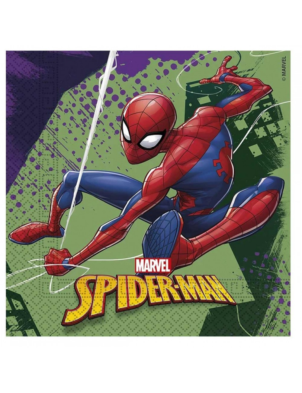Serviettes Ultimate Spider-man