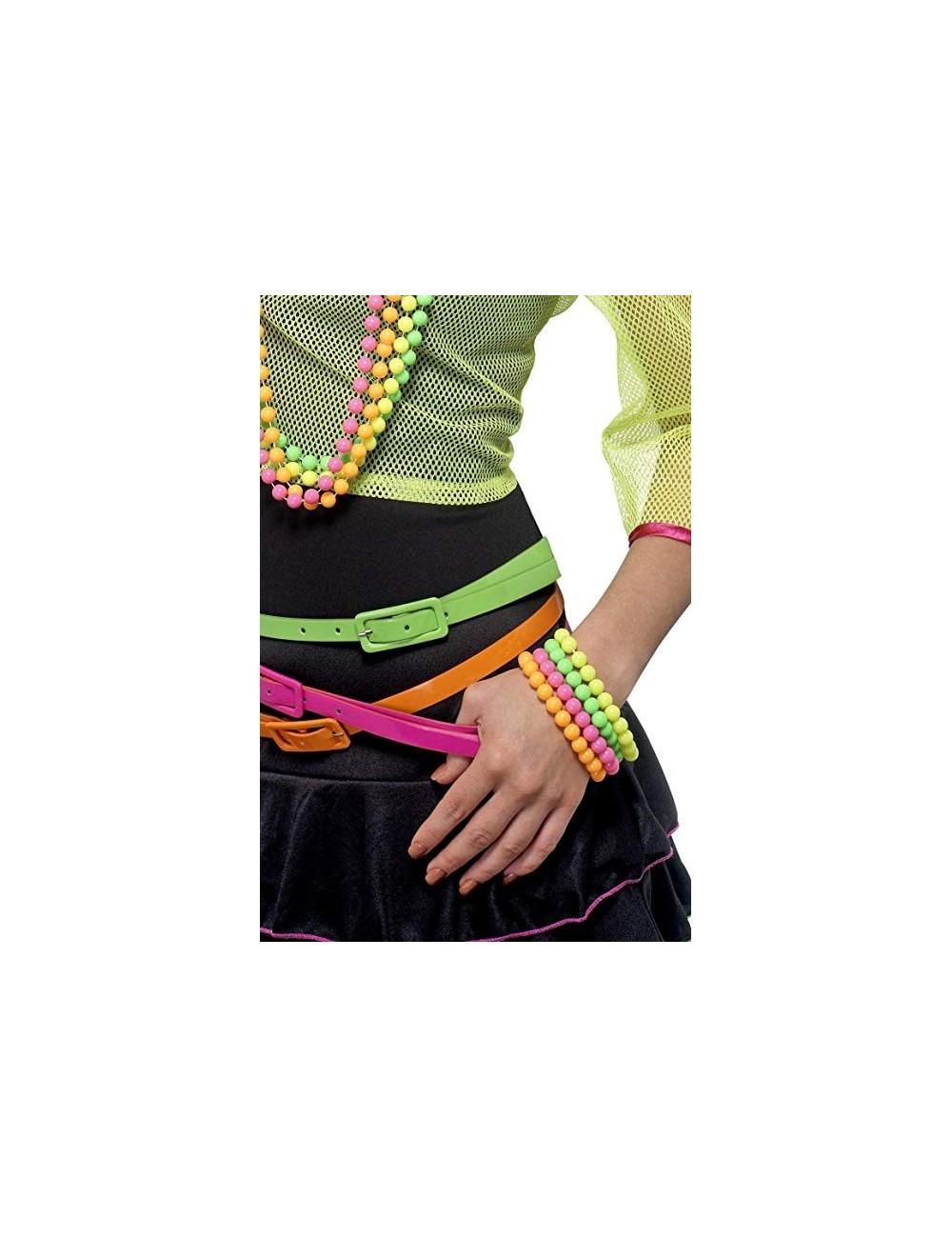 Set de 4 Bracelets Fluo