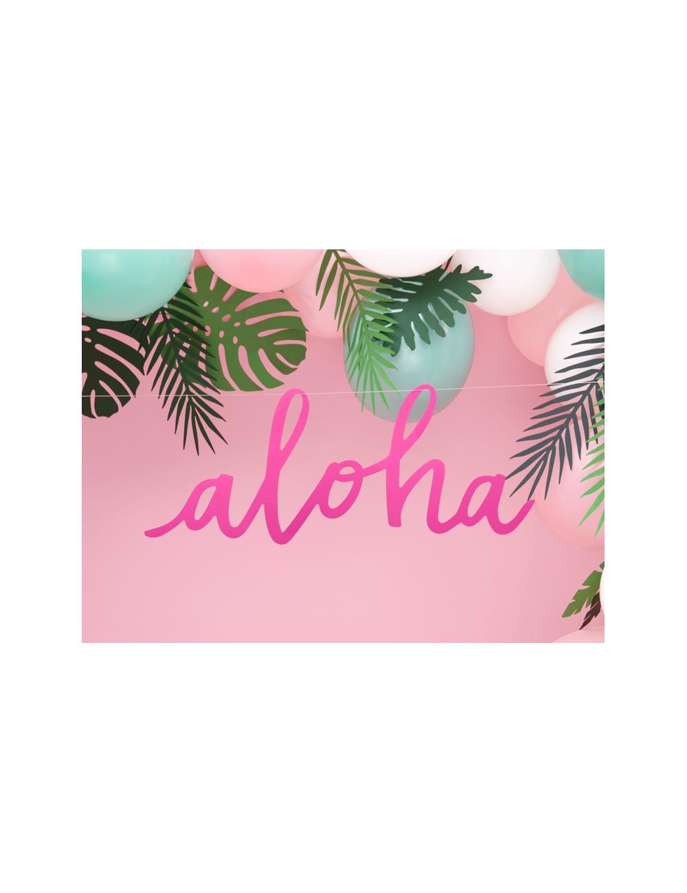 Fil De Peche Rose guirlande aloha