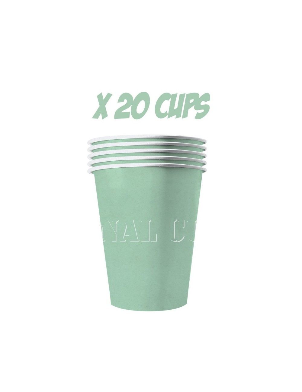 20 Paper Cup Red